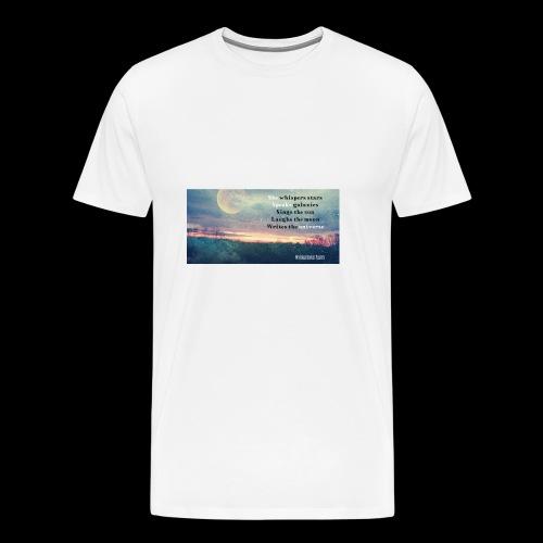 She speaks universe tank - Men's Premium T-Shirt