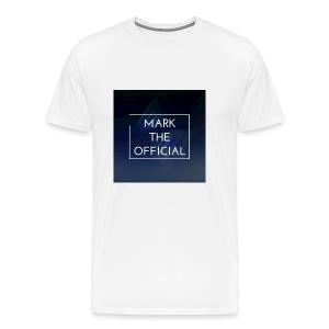 Mark the official - Men's Premium T-Shirt