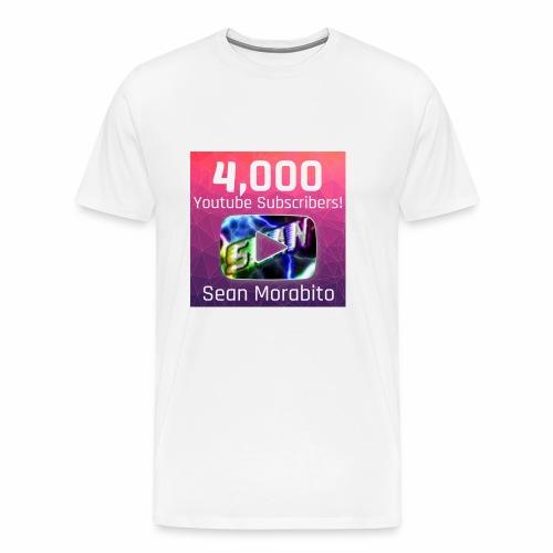4000 Subs edited - Men's Premium T-Shirt