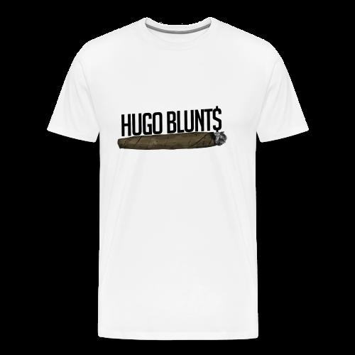 HugoBlunts Logo - Men's Premium T-Shirt