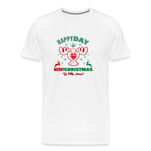 Happy Day Merry Christmas - Men's Premium T-Shirt