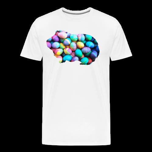 Easter Egg Guinea Pig - Men's Premium T-Shirt