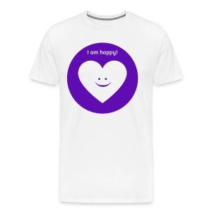 I am happy! - Men's Premium T-Shirt
