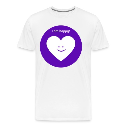 I am happy! - Men's Premium T-Shirt