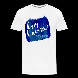 Get Creative - Blue - Men's Premium T-Shirt