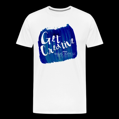 Get Creative - Blue - Men's Premium T-Shirt