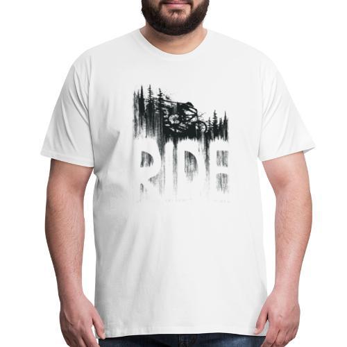 Ride and Drop - Men's Premium T-Shirt
