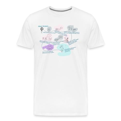 Awesome Einstein - Men's Premium T-Shirt
