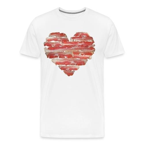 BACON = LOVE - Men's Premium T-Shirt