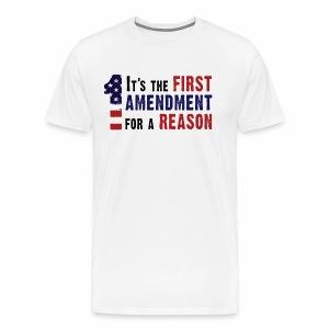 1st Amendment - Men's Premium T-Shirt