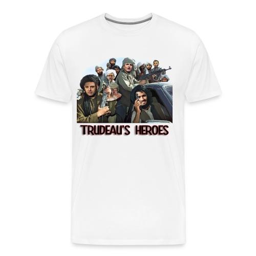 Trudeau's Heroes - Men's Premium T-Shirt