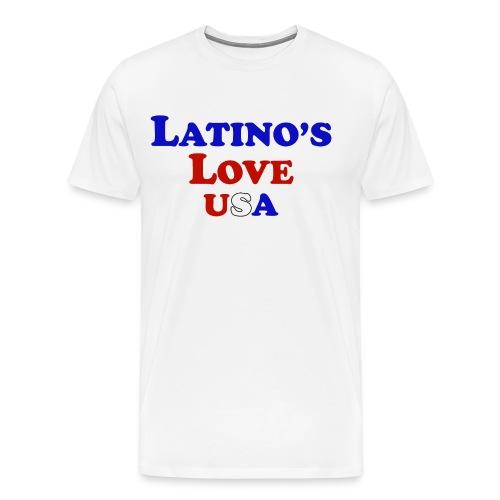 Latino's Love T Shirt - Men's Premium T-Shirt