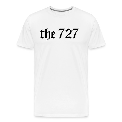 The 727 in Black Lettering - Men's Premium T-Shirt