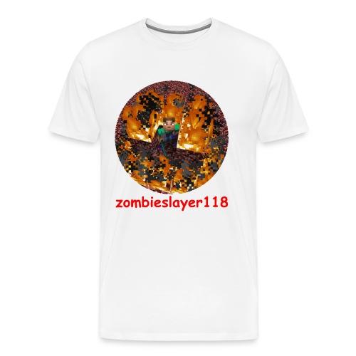 zombieslayer118 merch - Men's Premium T-Shirt