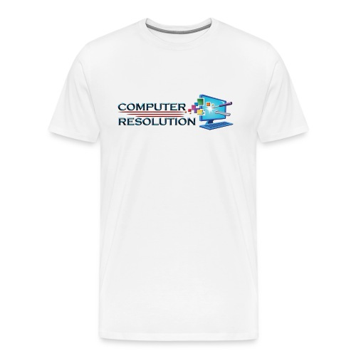 Colored Computer Resolution - Men's Premium T-Shirt