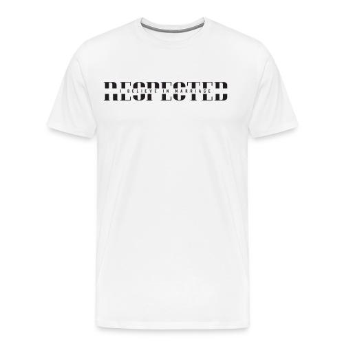 RESPECTED (With IBIM) - Men's Premium T-Shirt
