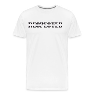 RESPECTED (With IBIM) - Men's Premium T-Shirt