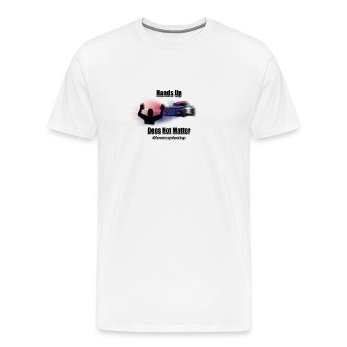 HANDSUPpng - Men's Premium T-Shirt