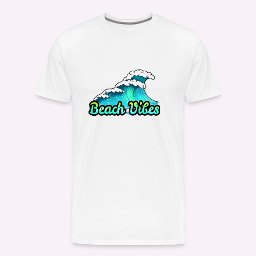 Beach Vibes - Men's Premium T-Shirt