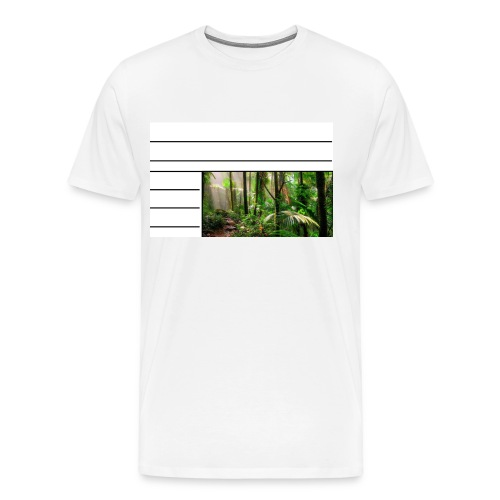 rainforest - Men's Premium T-Shirt