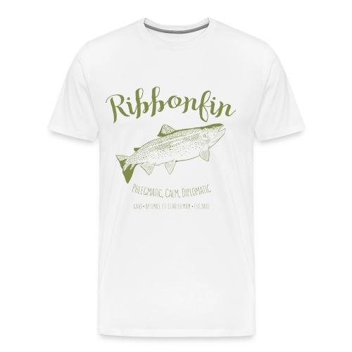 Ribbonfin House (olive) - Men's Premium T-Shirt