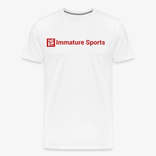 Extended Logo - Men's Premium T-Shirt