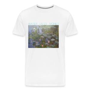 Water Lilies Monet tee - Men's Premium T-Shirt