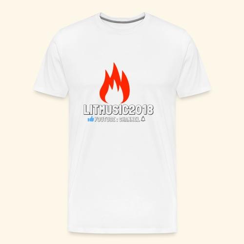 LITMUSIC2018 Youtube:Channel - Men's Premium T-Shirt