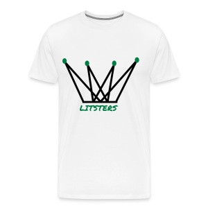 LITSTERS crown logo 1 - Men's Premium T-Shirt