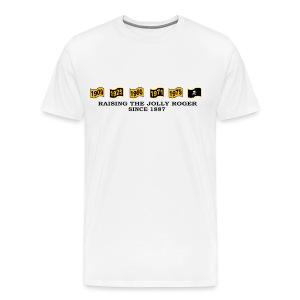 Raising it since '87 - Men's Premium T-Shirt