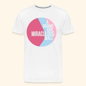 Bubblegum wall - Men's Premium T-Shirt