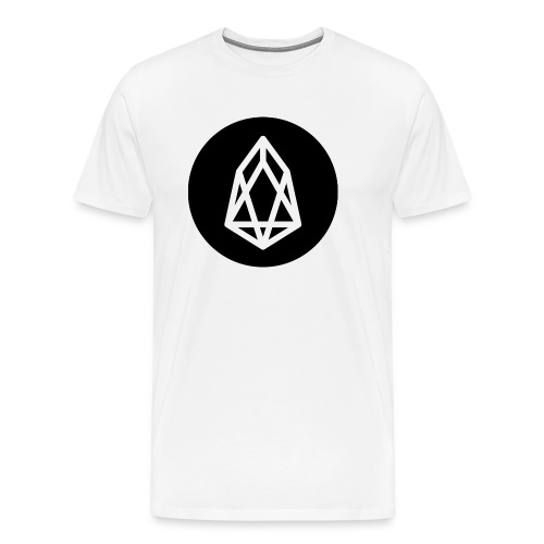 EOS Logo Black Background - Men's Premium T-Shirt