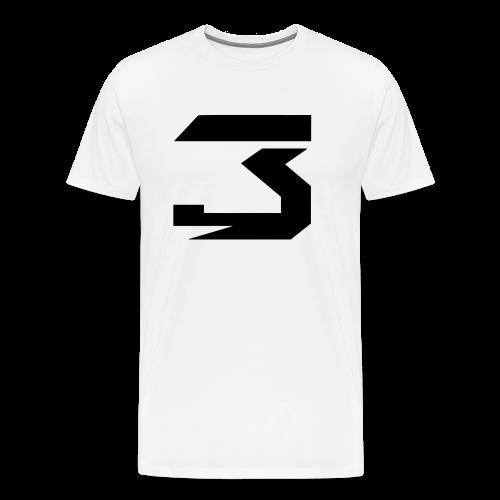 JM #3 (black) - Men's Premium T-Shirt