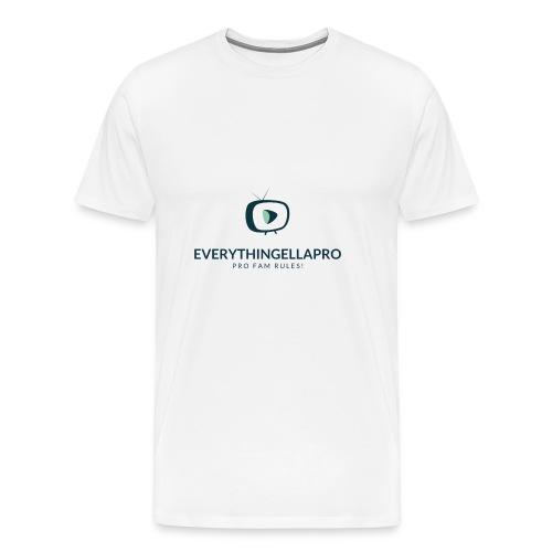 EverythingEllaPro Cool TV Video Logo - Men's Premium T-Shirt