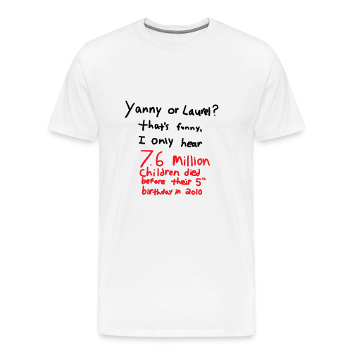 Yanny or Laurel - Men's Premium T-Shirt