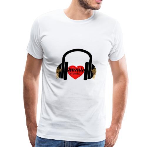 B-Savage Music Official Logo - Men's Premium T-Shirt
