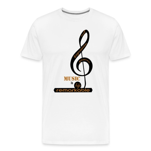 Remarkable Music - Men's Premium T-Shirt