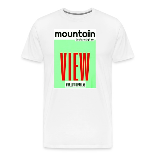 mountain2 - Men's Premium T-Shirt