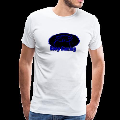 keep gaming 1 - Men's Premium T-Shirt