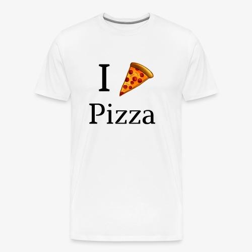 I Heart Pizza - Men's Premium T-Shirt
