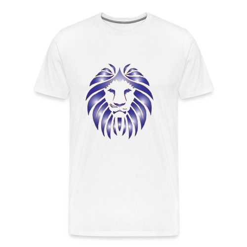 SQUAAD Lion On Dat Lean - Men's Premium T-Shirt