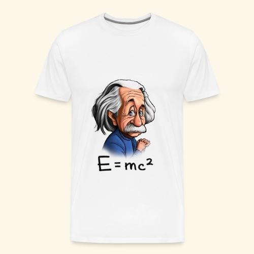 Einstein Tee - Men's Premium T-Shirt