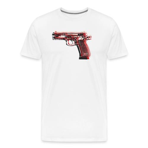 Pistol PopArt - Men's Premium T-Shirt