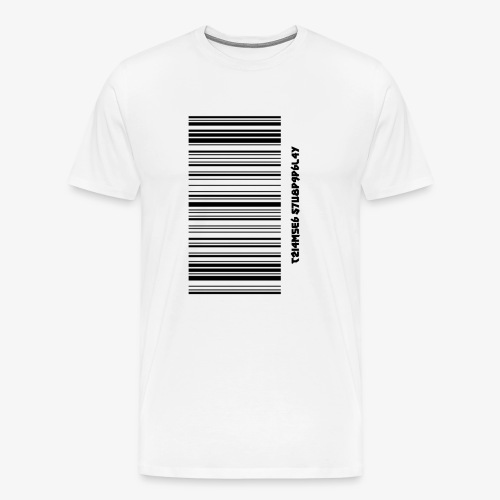 Time Supply - Barcode T-Shirt - Men's Premium T-Shirt