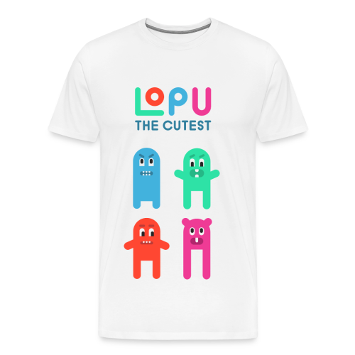 Lopu - The Cutest - Men's Premium T-Shirt