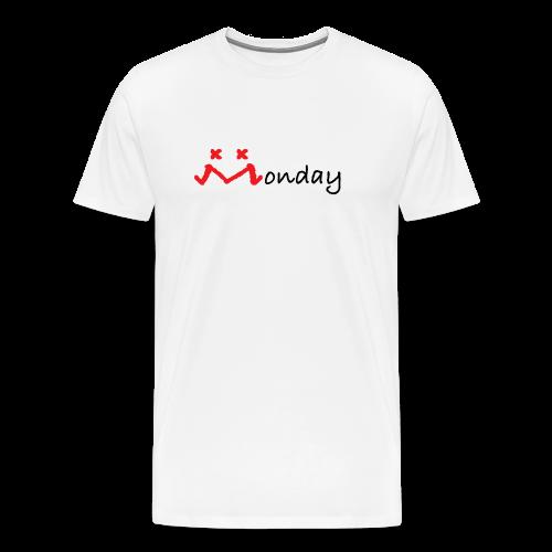 MONDAY MOOD-BLK - Men's Premium T-Shirt