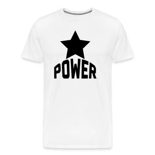 Black Star Power - Men's Premium T-Shirt