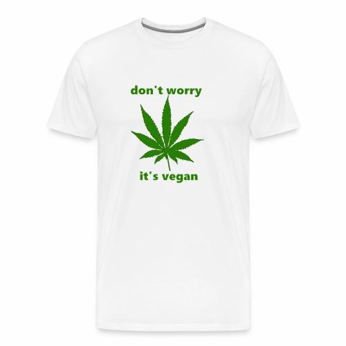weed crap - Men's Premium T-Shirt