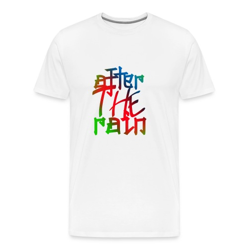 after the rain - Men's Premium T-Shirt