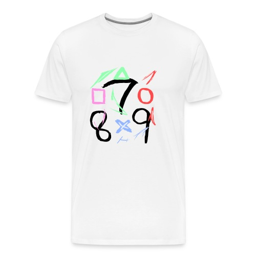The official 789 Logo - Men's Premium T-Shirt
